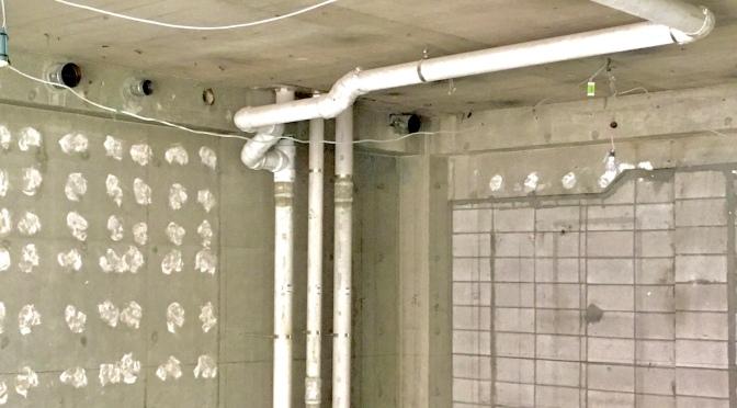 排水通気配管について